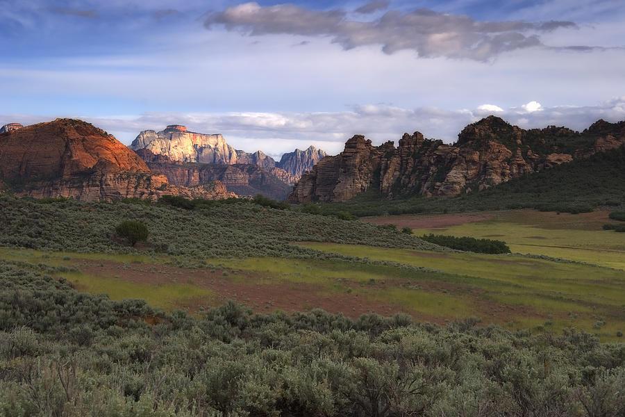 Zion National Park Utah Photograph by Utah Images