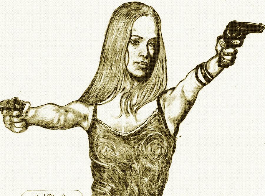 Zoe Saldana Drawing by Didier DidGiv