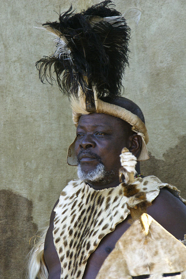 Africa Photograph - Zulu Dignity by Michele Burgess