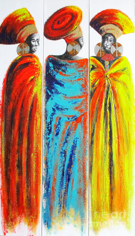 Zulu Ladies 2 by Tracey Armstrong