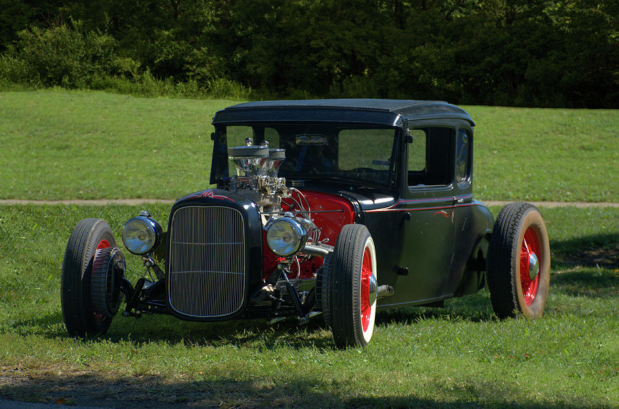1930 Photograph - 1930 Ford Coupe Hot Rod by Tim McCullough