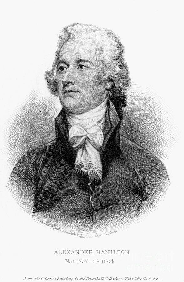18th Century Photograph - Alexander Hamilton by Granger