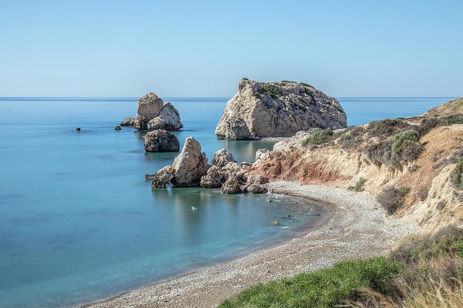 Petra Tou Romiou Photograph - Aphrodites Rock - Cyprus by Joana Kruse