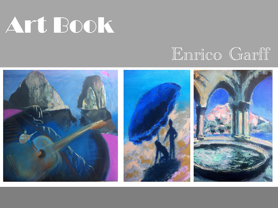 Islands Painting - Art Book by Enrico Garff