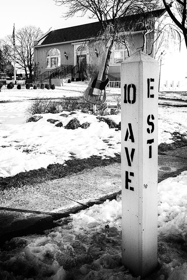 Belmar Photograph - 10 Ave and E St Belmar New Jersey by Terry DeLuco