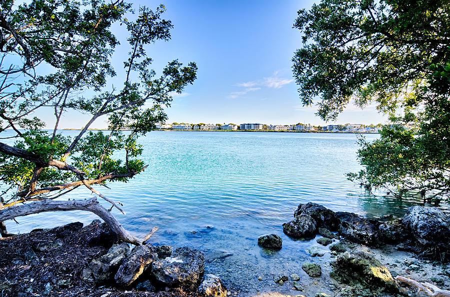 Beautiful Beach And Ocean Scenes In Florida Keys Photograph