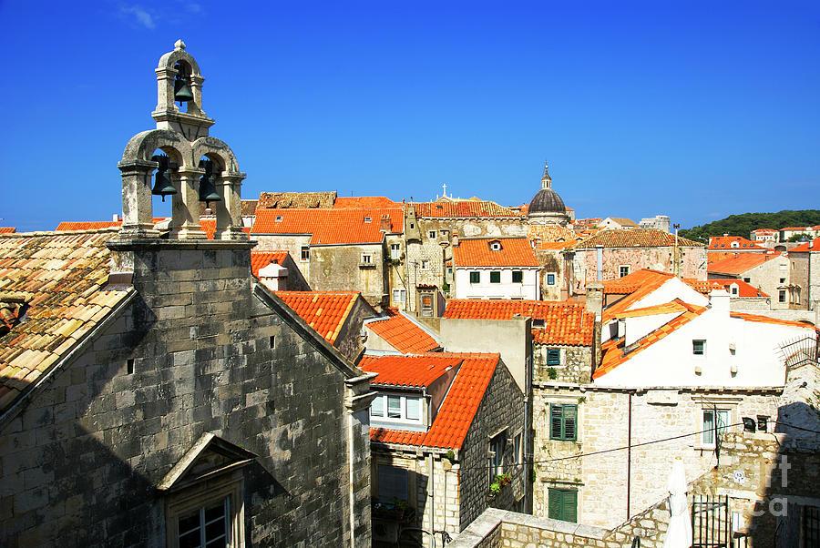 Roof Photograph - Croatia, Dubrovnik by Ruth Hofshi