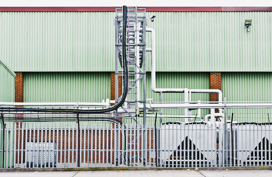 Architectural Photograph - Factory by Tom Gowanlock