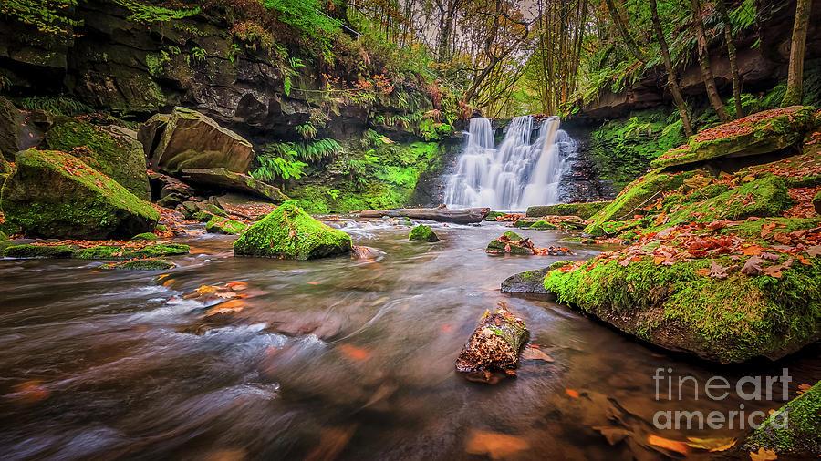 Goit Stock Waterfall Photograph