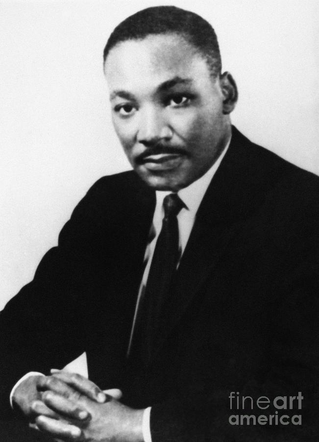 1968 Photograph - Martin Luther King, Jr by Granger