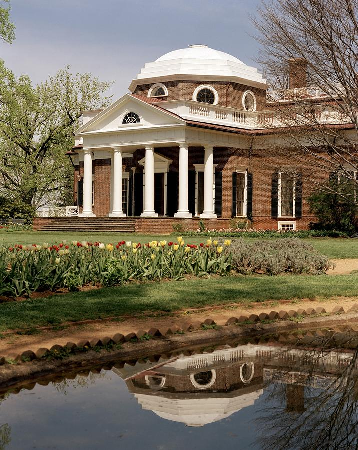 History Photograph - Monticello, The Home Built By Thomas by Everett