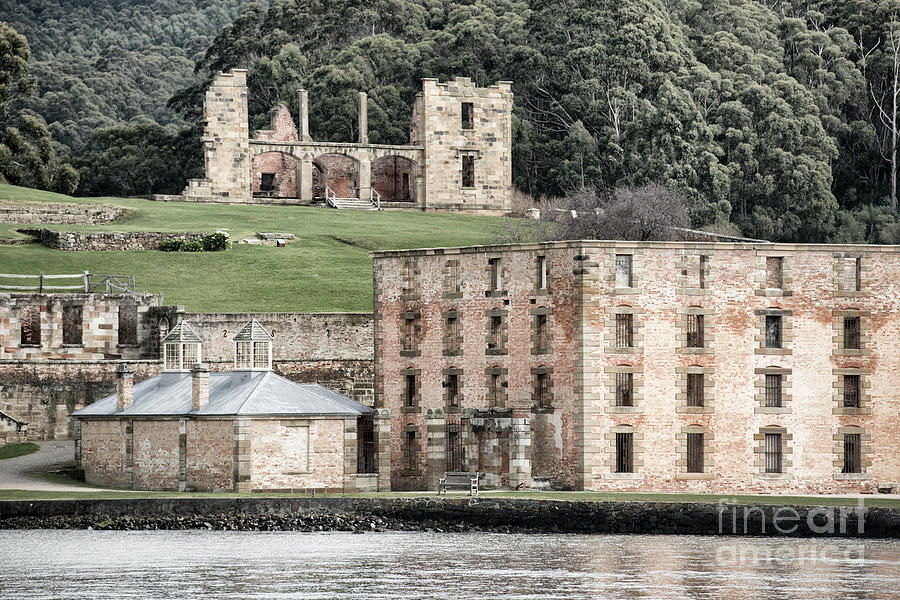 Port Photograph - Port Arthur Building In Tasmania, Australia. by Rob D