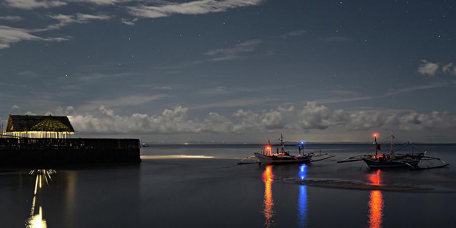 Punta Taytay At Night Photograph