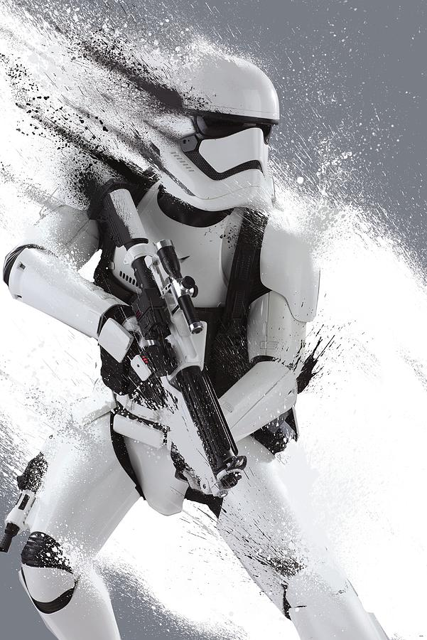 Star Wars Digital Art - Star Wars Episode Vii - The Force Awakens 2015 by Geek N Rock