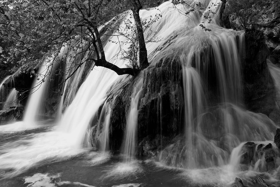 Wildflowers Photograph - Turner Falls by Iris Greenwell