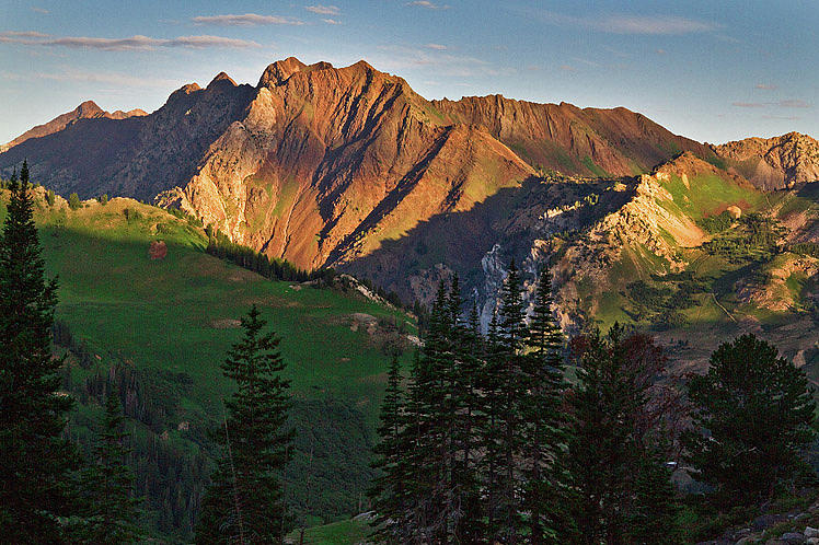 Wasatch Mountains Photograph