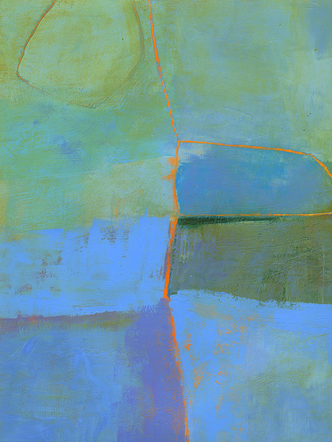 Abstract Painting - 100/100 by Jane Davies