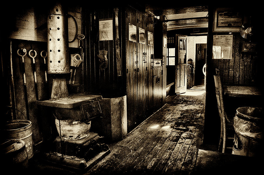 Prr Photograph - 100 Year Old Railroad Caboose by Paul W Faust - Impressions of Light