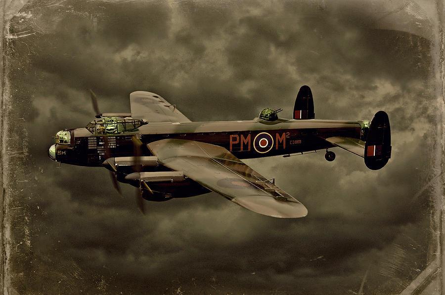 Avro Lancaster Photograph - 103 Squadron Avro Lancaster by Steven Agius