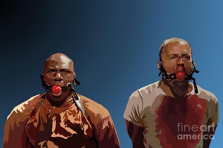 Pulp Fiction Digital Art - 106.  Eenie Meany Miney Moe... by Tam Hazlewood