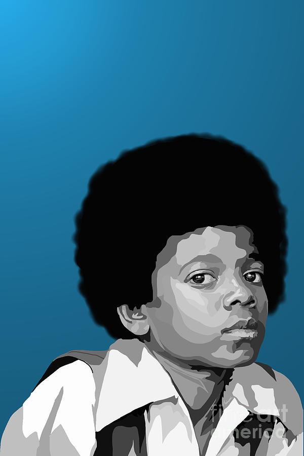 Micheal Jackson Digital Art - 108. Easy As 123 by Tam Hazlewood