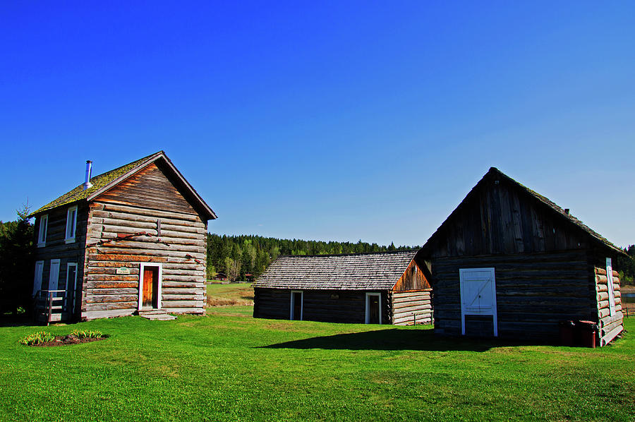 Historic Photograph - 108 Mile House British Columbia by Robert Braley
