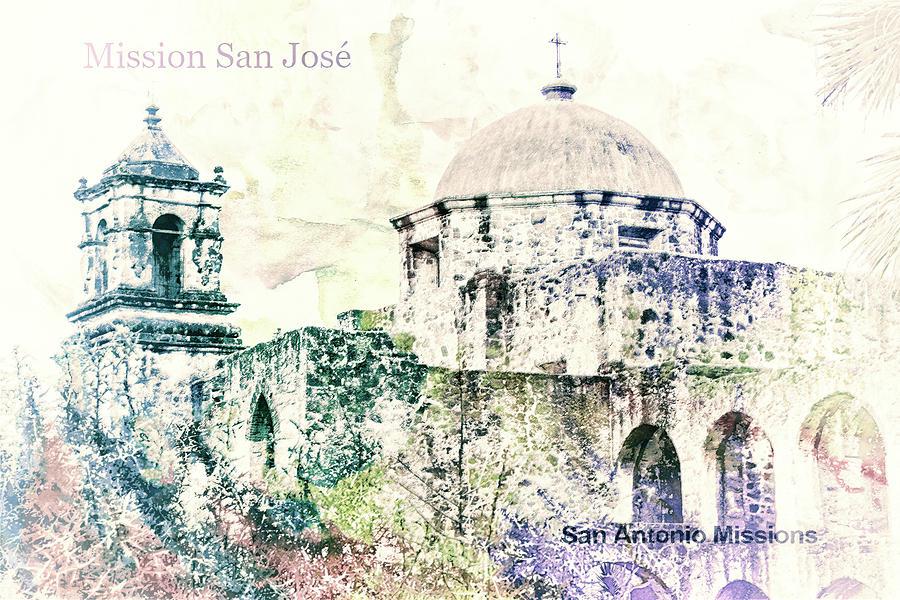 10857 Mission San Jose Digital Art