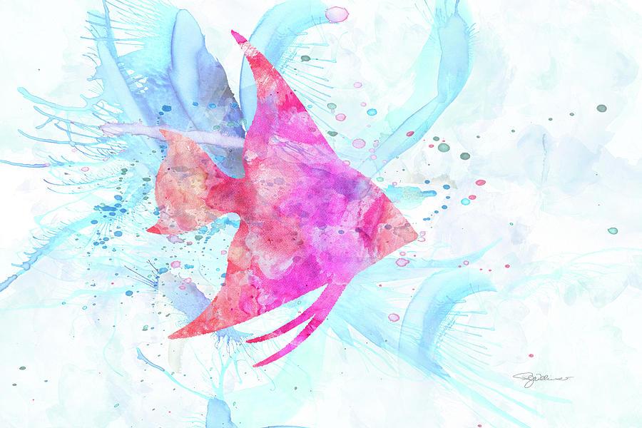 10953 Angel Fish Digital Art