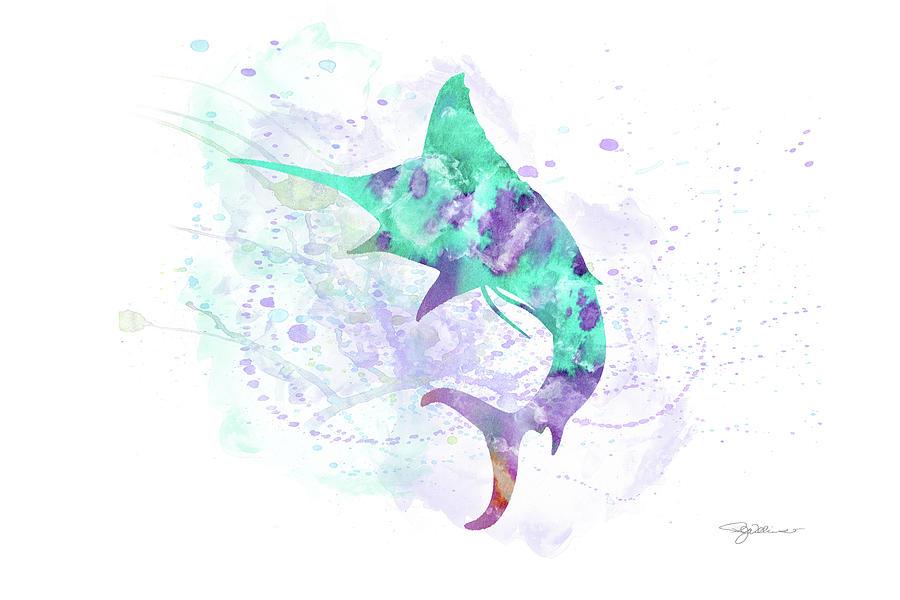 10961 Swordfish Digital Art