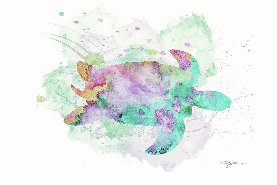 10962 Sea Turtle Digital Art