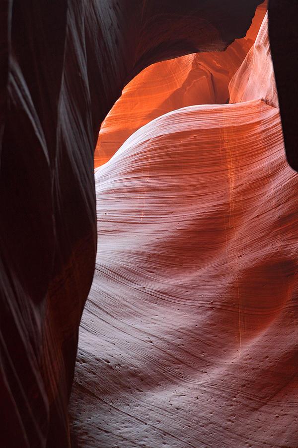 Antelope Canyon Abstract Photograph