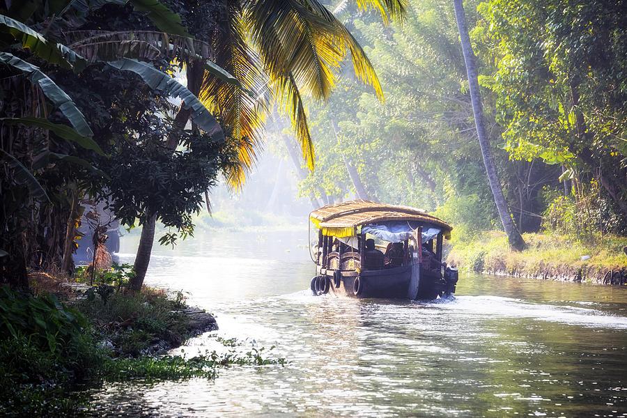 Alappuzha Photograph - Backwaters Kerala - India by Joana Kruse