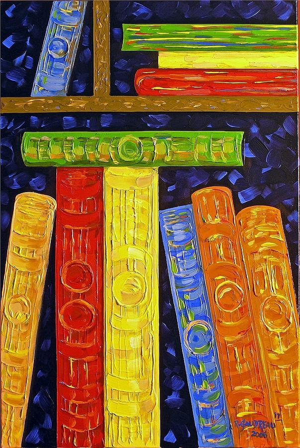 Abstract Expressionism Painting - 11 Books by Robert Gaudreau