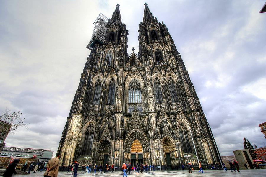 Cologne Germany Photograph - Cologne Germany by Paul James Bannerman