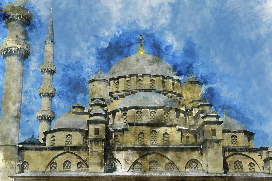 Hagia Sophia In Istanbul Turkey Photograph