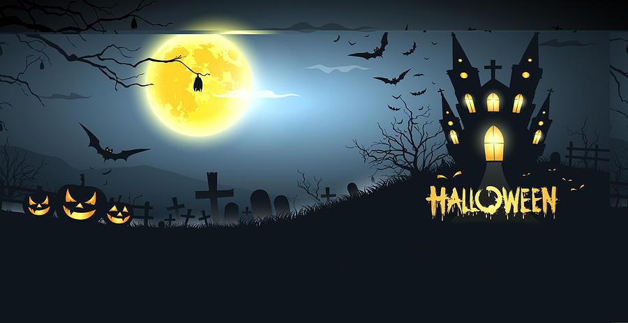 Halloween Digital Art - Halloween by Dorothy Binder