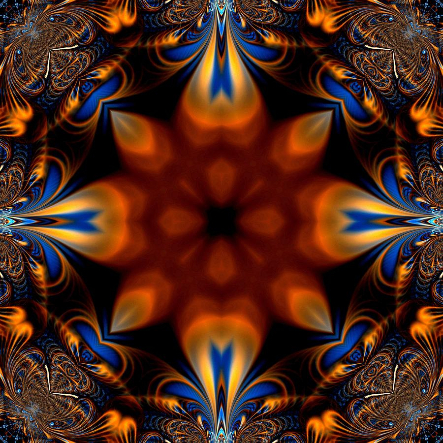Fractal Digital Art - 11 by Sfinga Sfinga