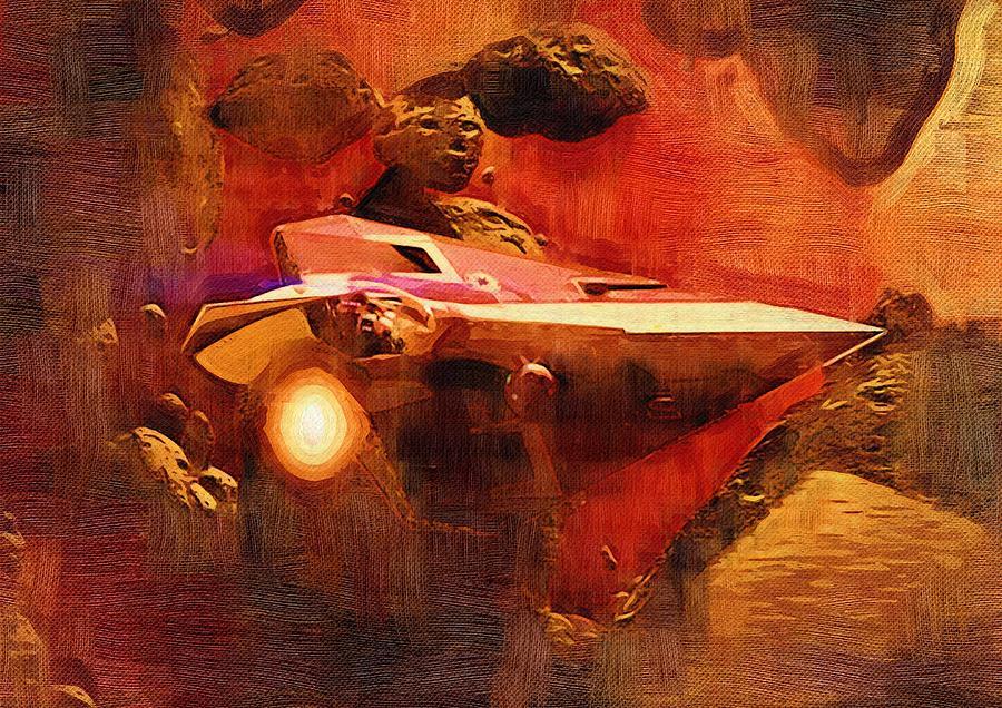 star wars saga art digital artlarry jones