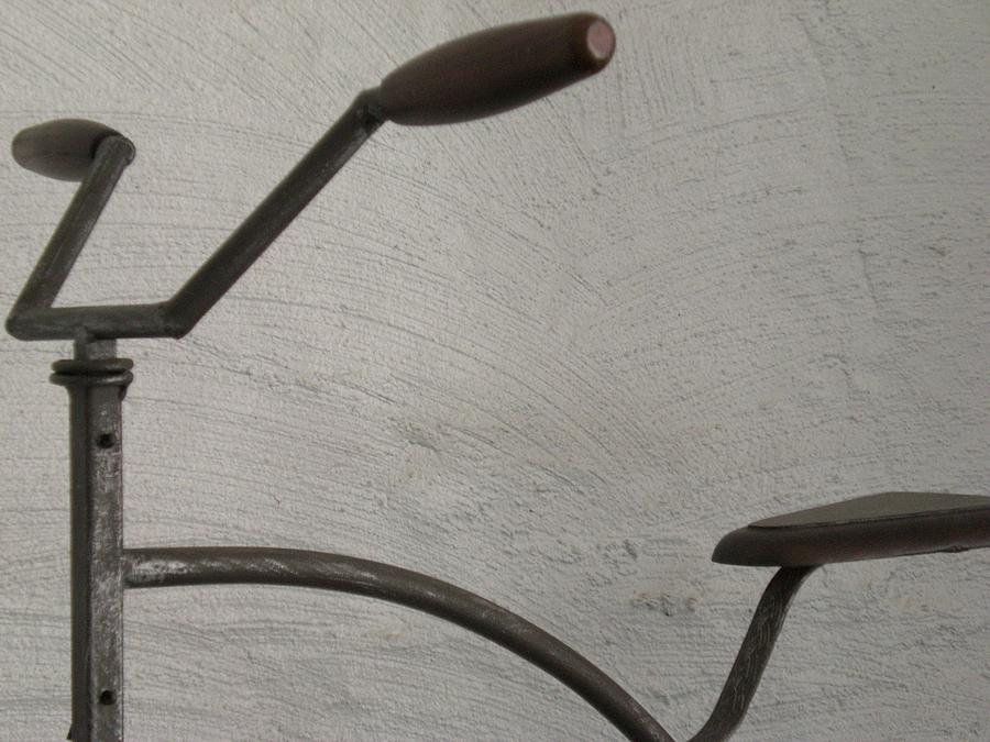 Handlebars Photograph - Untitled by Laura Burchfield