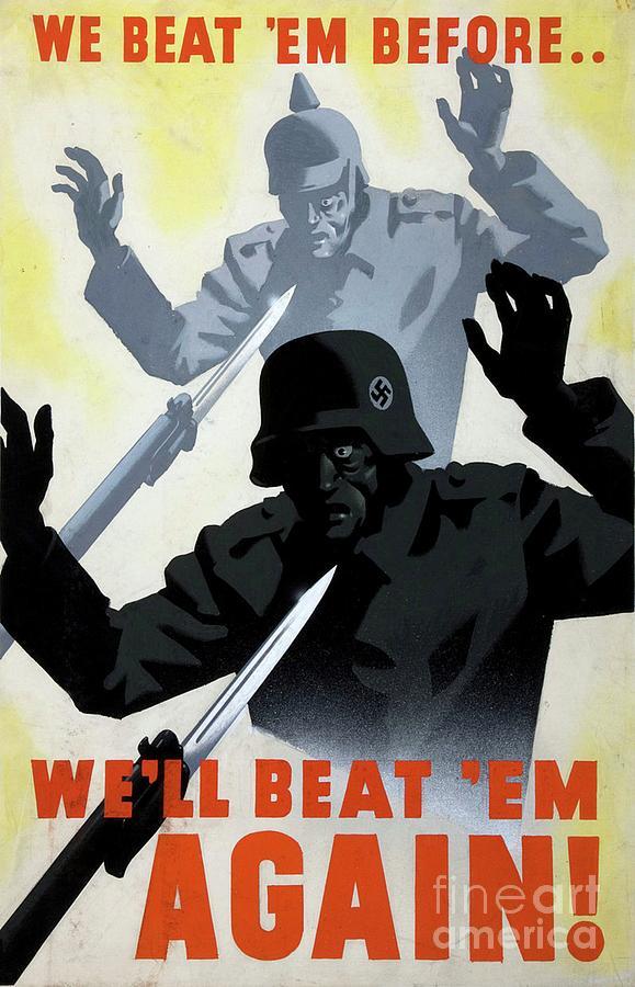 World War Two Propaganda Poster