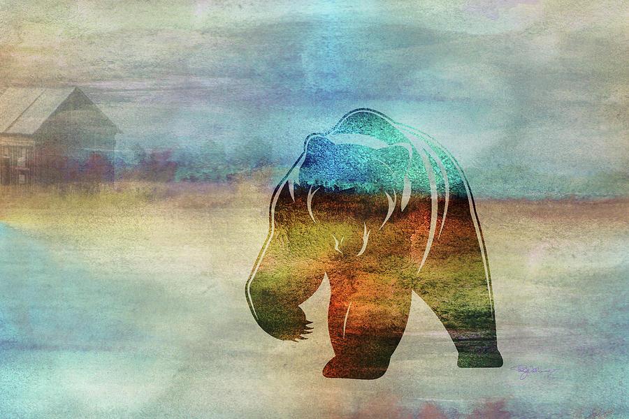 11006 Bear Digital Art