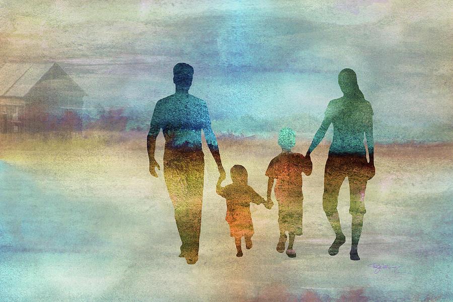 11007 Family Digital Art