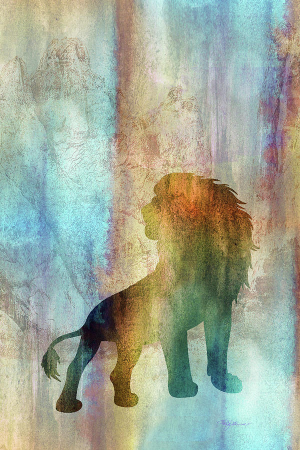 11014 Lion Digital Art