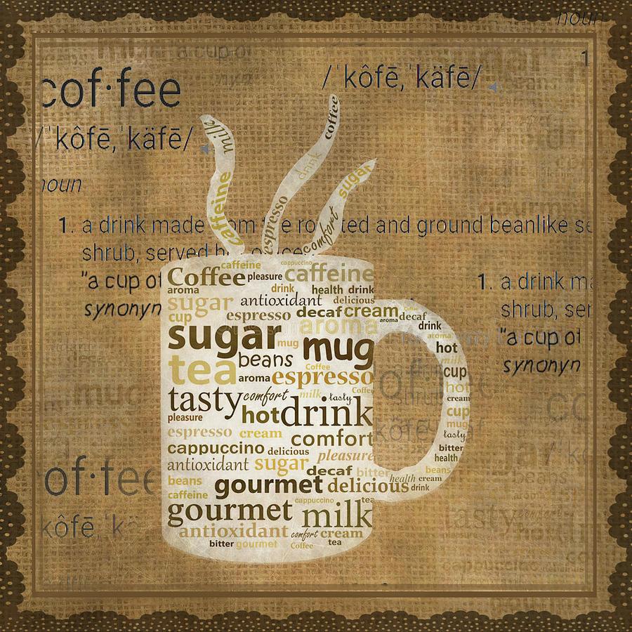 11017 Coffee Art Digital Art