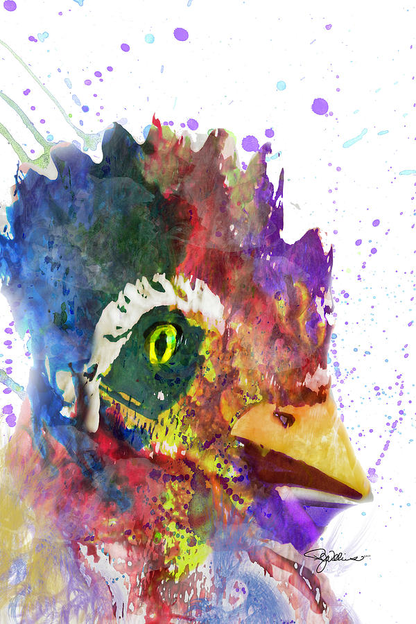 11026 Rocky The Rooster Digital Art