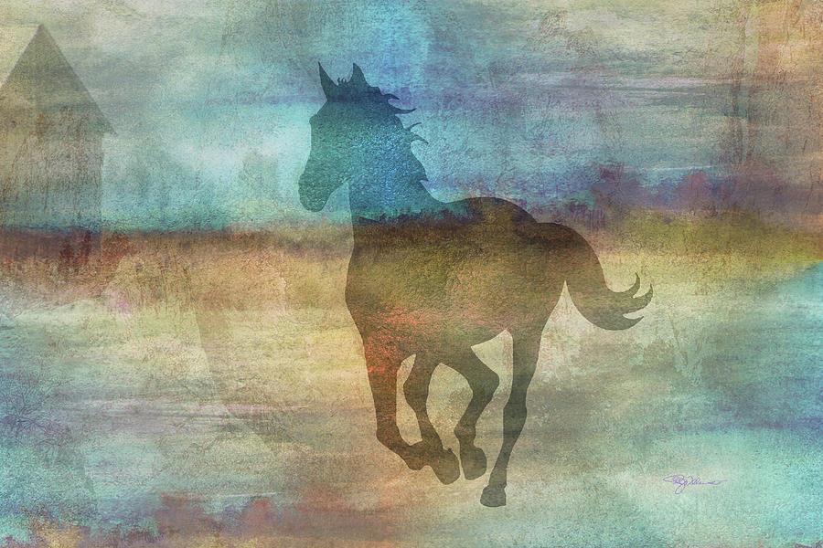 11039 Horse Digital Art