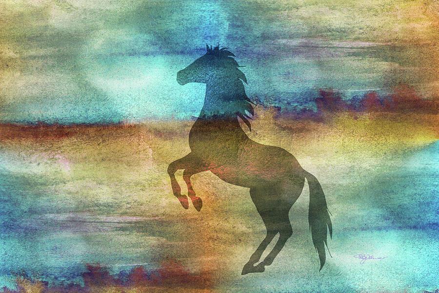 11040 Horse Digital Art