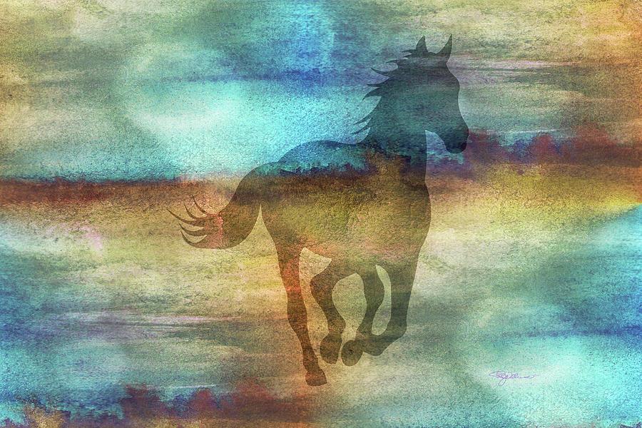 11041 Horse Digital Art