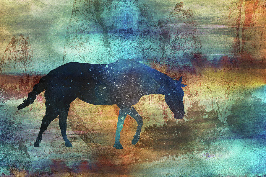 11042 Horse Digital Art