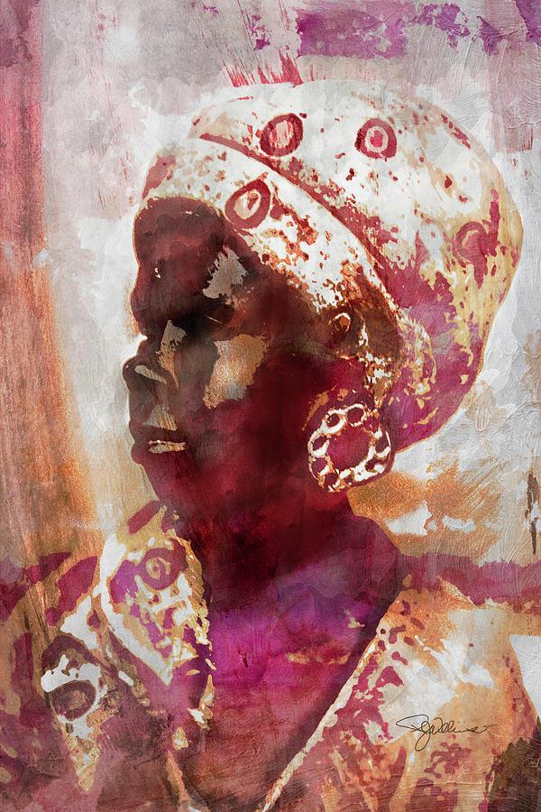 11052 African Woman Photograph